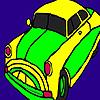 Grand Filled Car Coloring
