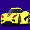 Modern And Fast Car Coloring