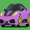 Convertible Fast Car Coloring
