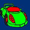 Concept Racing Car Coloring