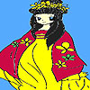Little Kimono Coloring